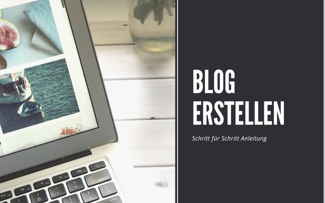 Blog erstellen – Mit WordPress in unter 5 Minuten